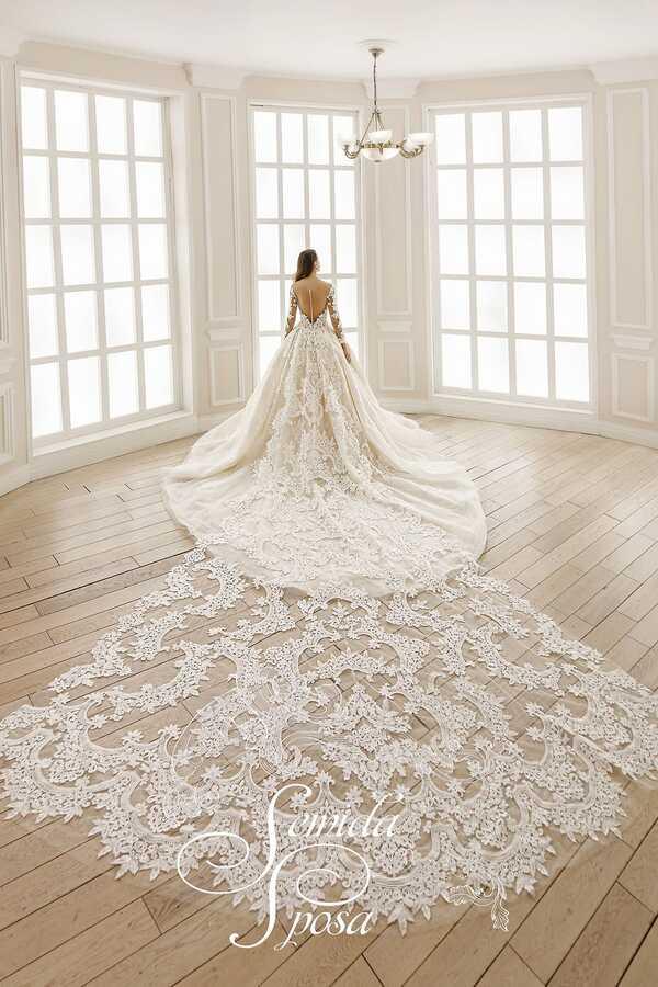AMAZON - коллекция свадебных платьев 2020 созданных для королевы