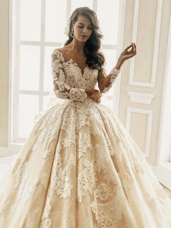 Топ 5 силуэтов свадебных платьев