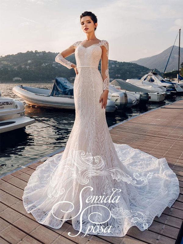 Свадебное платье Fit-and-Flare